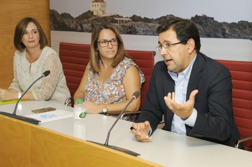 Imagen de la rueda de prensa celebrada esta mañana en el Consell de Menorca