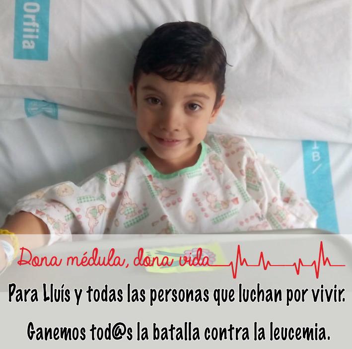 La campaña iniciada por los padres de Lluís ha conseguido un donante