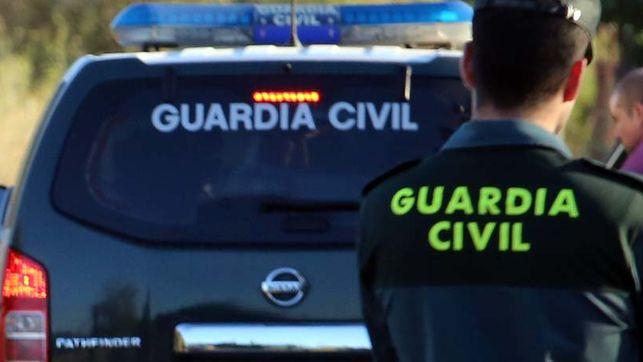 Dotación de la Guardia Civil.