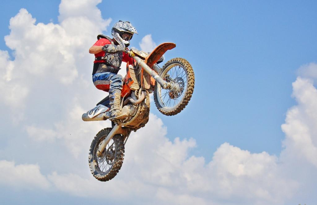 Volando hacia un nuevo concepto de motocross
