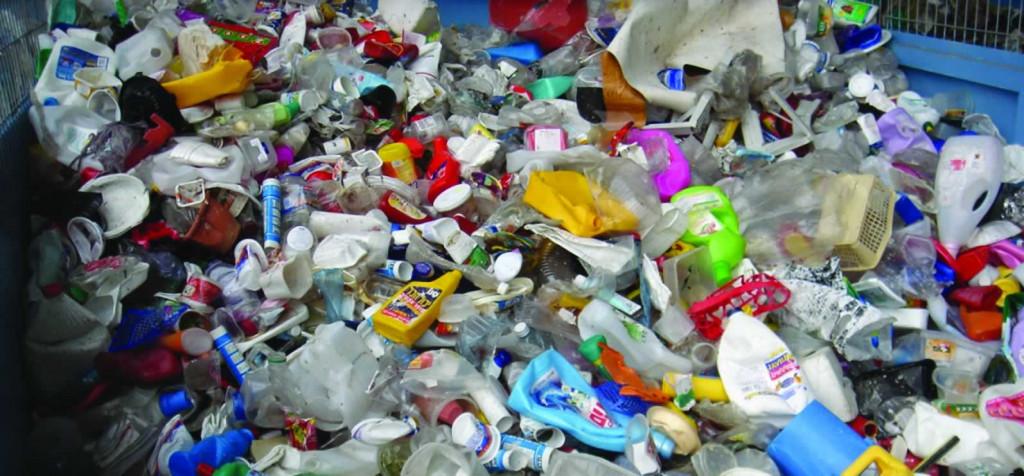 Menos plástico.