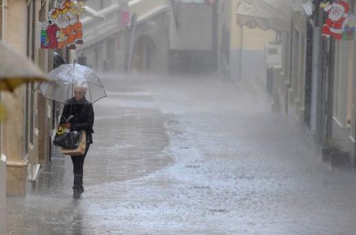 Amenaza lluvia.
