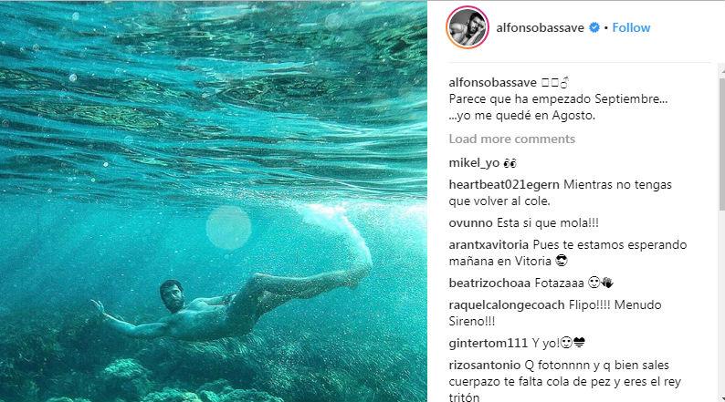 Fotografía que ha colgado Alfonso Massave en Instagram.