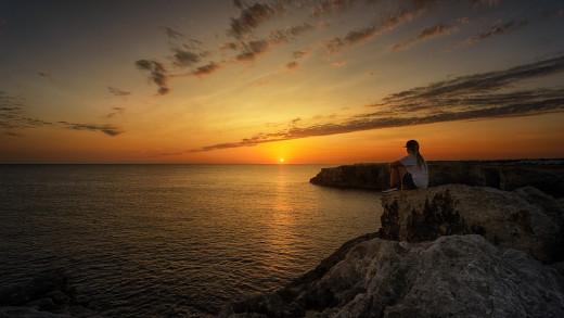 Las puestas de sol son un espectáculo que no hay que perderse