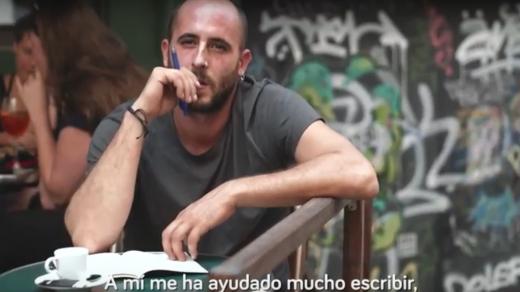 """Amarú Maraval, autor del libro """"Mental chat. Esquizofrenia, ficción o realidad"""""""