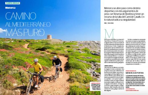 Artículo de la revista de Baleària.