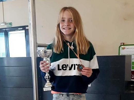 (Fotos) Oro y bronce para Laura Anglada en Huelva