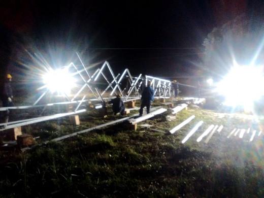 Un cap de fibló tuvo a más de la mitad de la isla sin electricidad durante 3 días