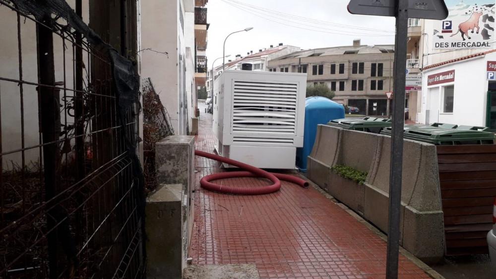 Uno de los generadores de Es Mercadal (Fotos: Endesa)