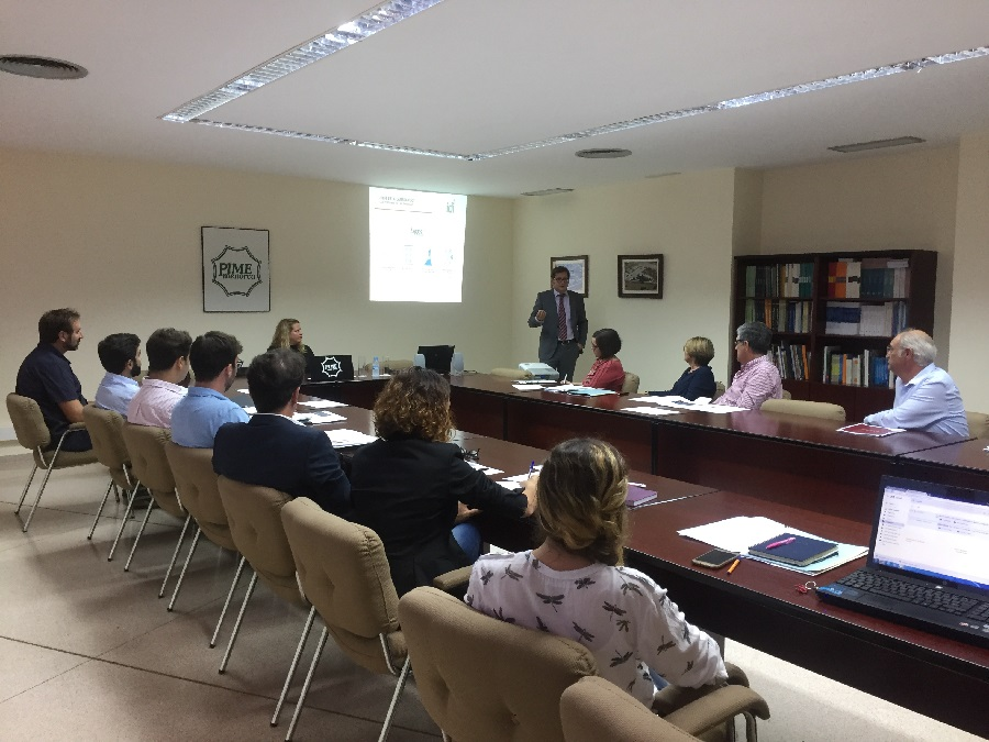 El sector industrial de Menorca ha conocido esta mañana su estado de digitalización