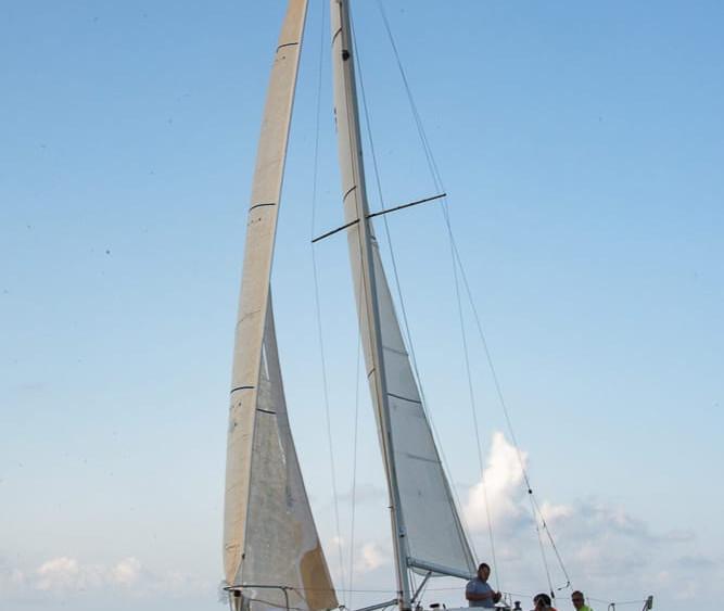 Imagen de la regata (Fotos: Xavi Cardell)