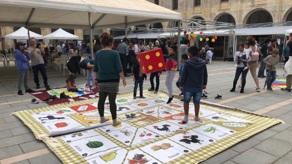 Una de las actividades de la muestra (Fotos: Tolo Mercadal)