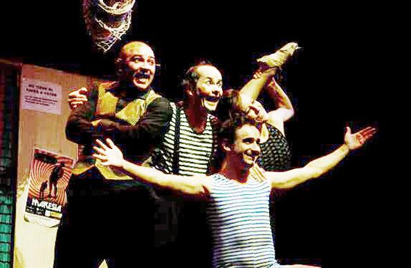 Imagen de un espectáculo del Circ Bover.