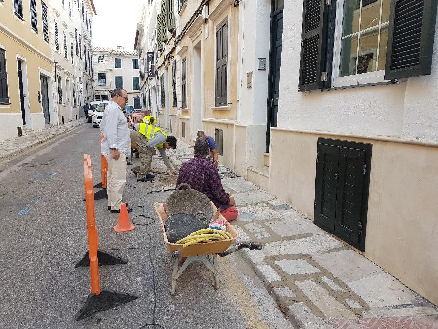 El empedrado de la calle Anuncivay está protegido debido a su valor patrimonial
