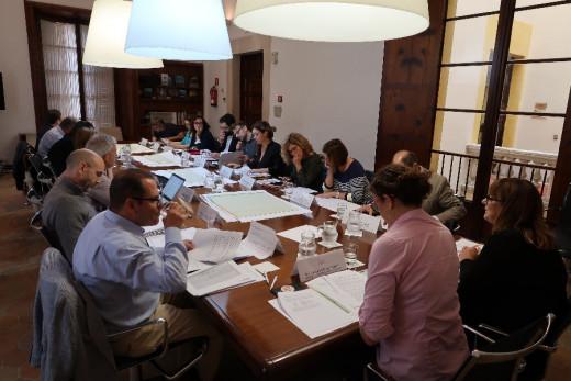 Reunión de ayer del Comité ejecutivo de la Comisión de Impulso del Turismo Sostenible