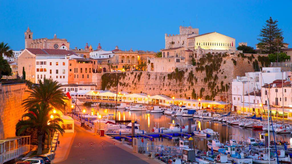 Port de Ciutadella.