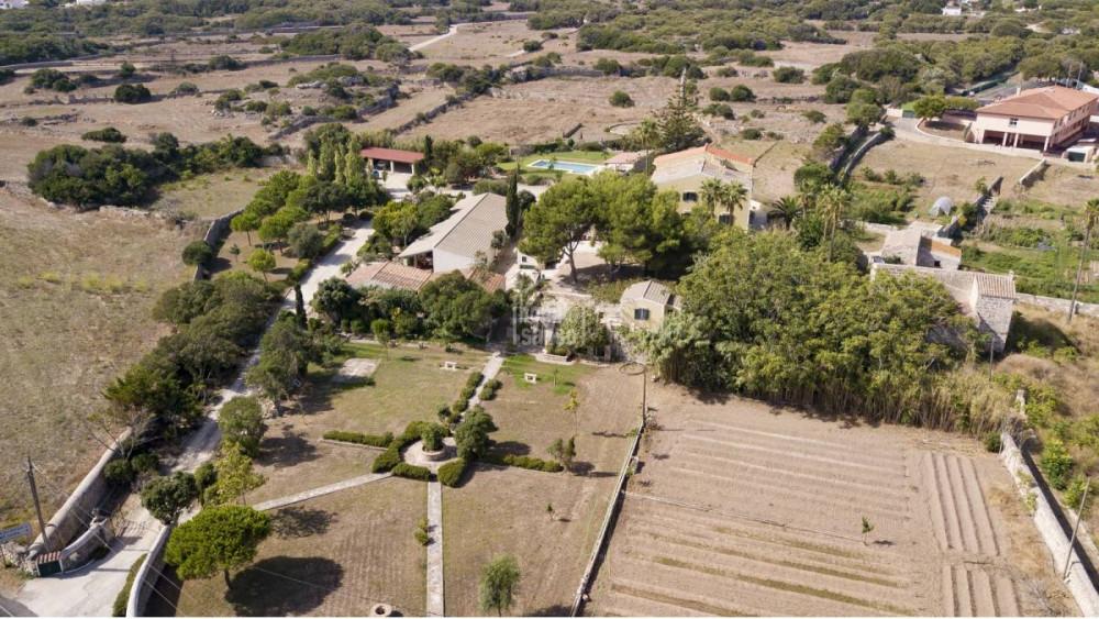 Vista aérea de la finca (Fotos: Bonnin Sansó)