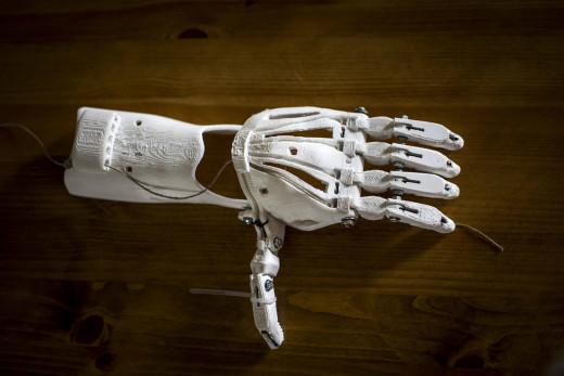 Crear moldes de una parte del cuerpo humano no es ciencia ficción