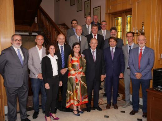 Acto fundacional donde participa Menorca, con la presencia de Justo Saura, presidente de PIME