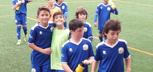 Jugadores del Sant Lluís.