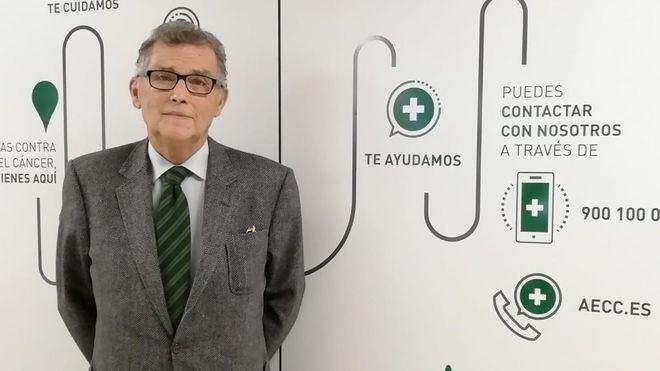 Javier Cortés, poco antes de la entrevista (Foto: mallorcadiario.com)