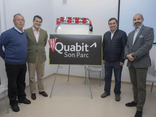 (Fotos) Quabit Inmobiliaria, nuevo patrocinador del Mercadal