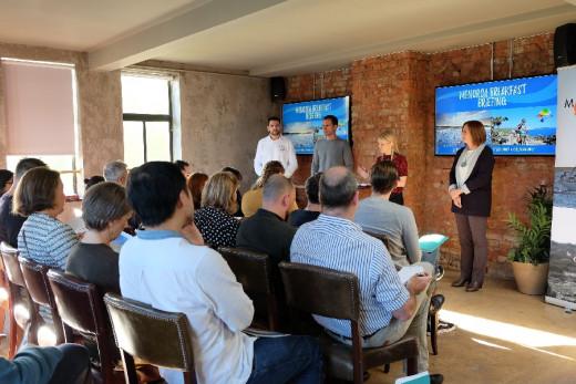 Acto de promoción de Menorca celebrado esta mañana en Londres