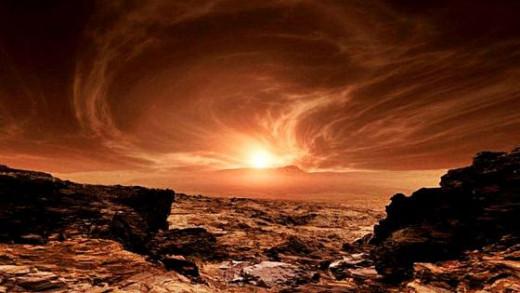 Amanecer en Marte (Foto: Mallorcadiario)