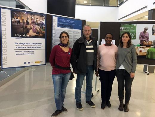 Imagen de la presentación de la exposición (Foto: Àrea de Salut de Menorca)