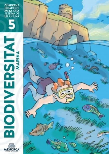 El mar, protagonista del nuevo cuaderno didáctico de la Reserva de la Biosfera