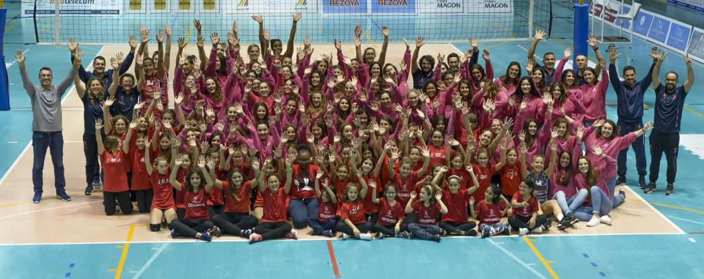 Foto de familia de todos los equipos (Foto: CVC)