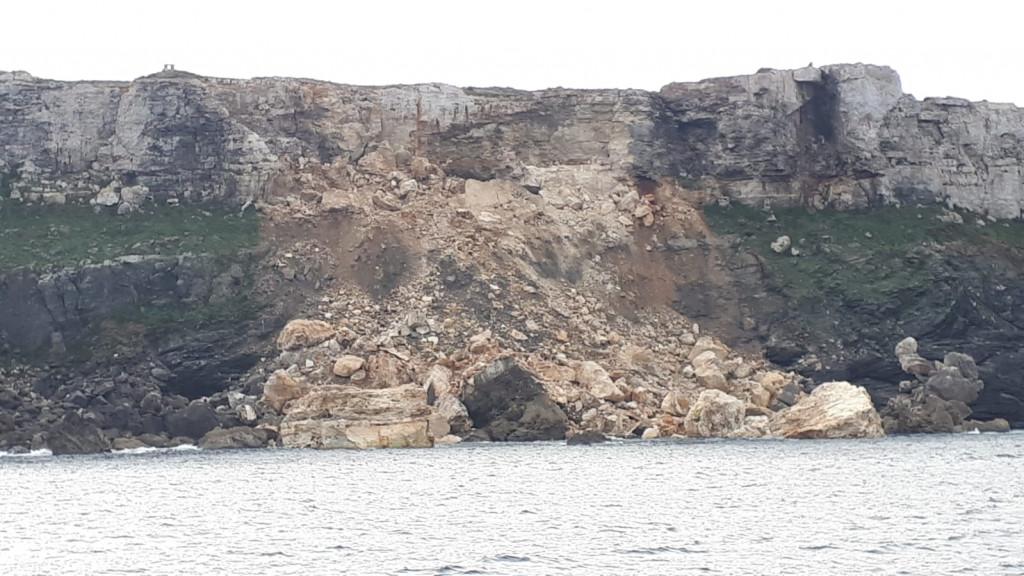 Imagen de la zona afectada (Foto: Tolo Mercadal)