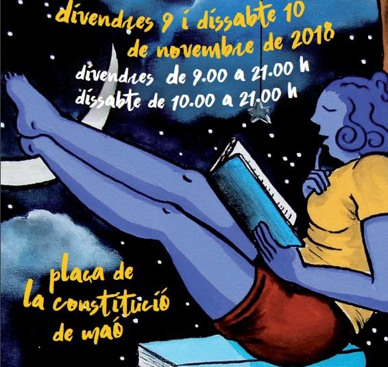 Imagen del cartel de la Feria del Libro en catalán 2018