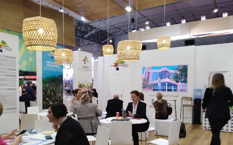 La Fundación Fomento del Turismo de Menorca participa en la feria IBTM World de Barcelona