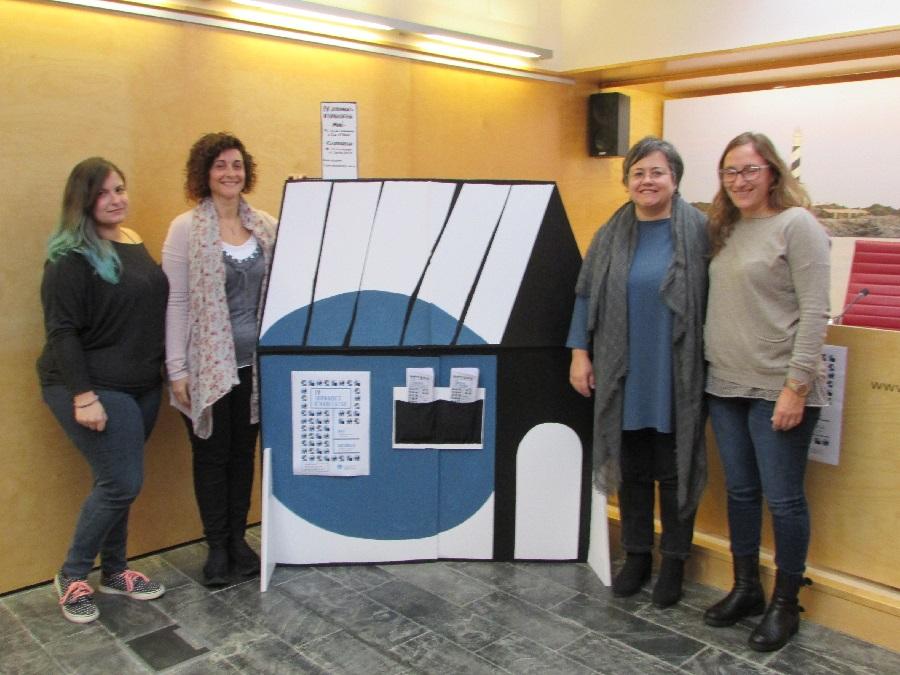 La consellera Cristina Gómez y su equipo han presentado las IV Jornadas de Vivienda