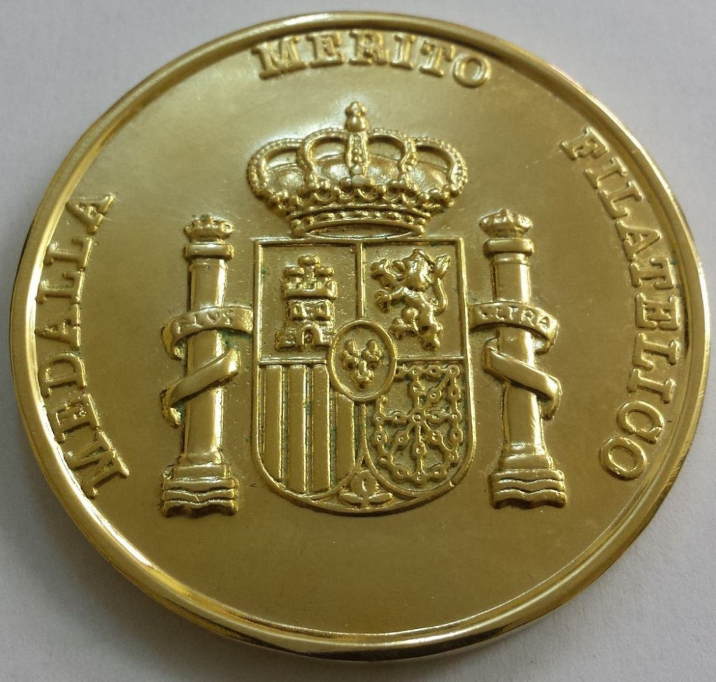 Medalla de Oro al Mérito Filatélico