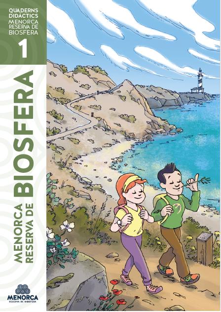 Primer tomo de los cuadernos didácticos de la Reserva de la Biosfera