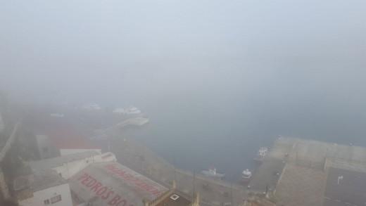 Sin visibilidad.