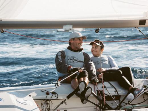 (Fotos) Damián Borrás y Sara Franceschi reinan en el Illes Balears de Snipe