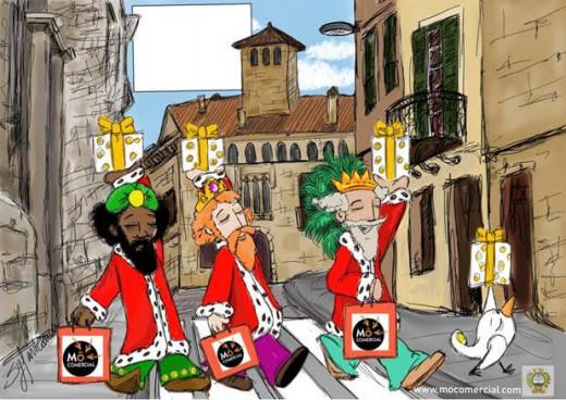 Imagen de una de las postales diseñadas por Sílvia Vivó.