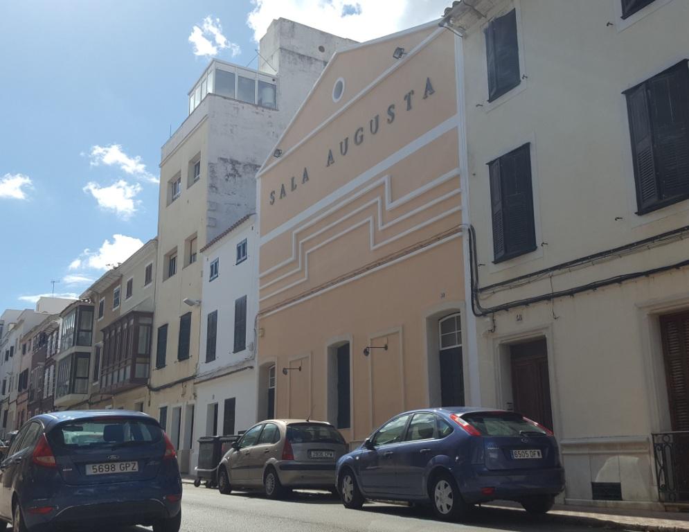 La Sala Auguta acogerá el nuevo Conservatorio de Menorca
