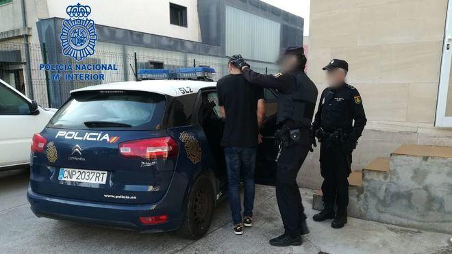 Momento de una de las detenciones.