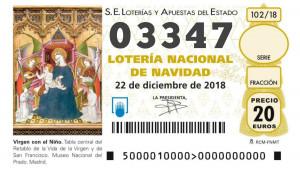 El Gordo de la Lotería de Navidad.