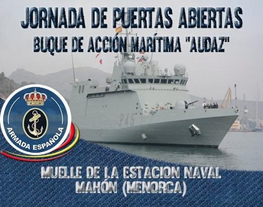 Este buque está preparado para realizar acciones de vigilancia, salvamento y la lucha contra la contaminación marina