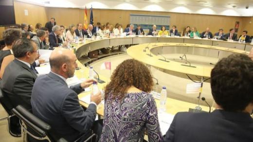 Imagen del Consejo de Política Fiscal y Financiera (Foto Mallorcadiario)