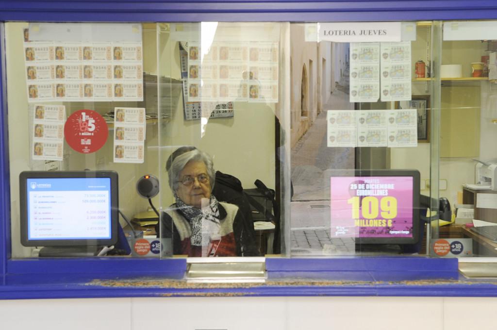 Administración de Lotería número 2 de Maó (Foto: Tolo Mercadal)