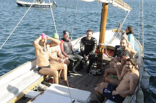 Participantes en la travesía de una anterior edición (Foto: Tolo Mercadal)