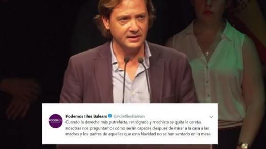 Jorge Campos y el tweet de Podemos.