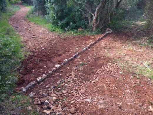 (Fotos) Técnica de Piedra en seco para el Camí de Cavalls