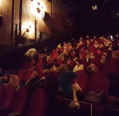 Público en la sala.